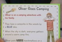 Camping with Kids (Petit Mail: Oliver Goes Camping) / Pins to inspire additional family interaction & children's activities that supplement the stories contained in #petitmail educational story cards. www.petitmail.ca / by Alison Butler (The Petit Cadeau Blog)
