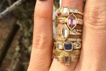 **Alternative Bridal** / Rings for the bride who lives outside the box.