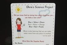 Science for Kids (Petit Mail: Olivia's Science Experiment) / Pins to inspire additional family interaction & children's activities that supplement the stories contained in #petitmail educational story cards. www.petitmail.ca / by Alison Butler (The Petit Cadeau Blog)