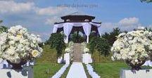 Wesele w ogrodzie / wedding in our garden / Orientalna altana na skraju parku, na malowniczo położonym wzniesieniu. Piękne miejsce na zaręczyny lub ceremonię ślubną / www.dwor.pl