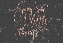 words / by Heather Samonie Fick
