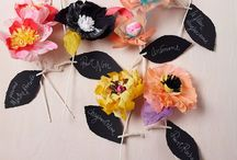 Paper and Crepe Paper Flowers