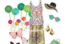 Fashion / vibrant, beautiful fashions!  / by Kaleidomicroscopic