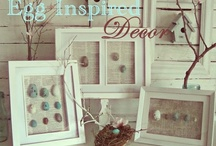 Easter / Pasen / Easter decorations, vintage, DIY