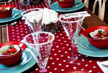 Tablescapes / Place Settings