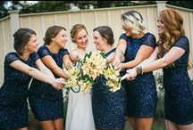 #DBMaids / Bridesmaid outfit ideas from the bridesmaid dresses to shoes and accessories to complete your bridal party's wedding day style. Share your David's Bridal bridesmaid style with #DBMaids!