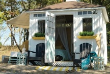 Cute Tuff Shed 'tiny houses' / by Annie Parker-Catalano