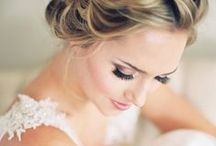 Bridal Beauty & Makeup / Your wedding is the one day you have permission to really go for it! Plan your big day beauty routine with these fabulous natural to glam wedding makeup looks, wedding manicures, and wedding hair and hairstyles.  / by David's Bridal