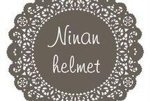 Ninan Helmet / Kaikki tuotteeni ovat uniikkeja ja teen myös omien mittojen/ toiveiden mukaan. Mikäli olet kiinnostunut niin laita viestiä :-) ninanipsu@hotmail.com