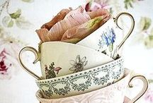 Time for a Tea Party / tea, vintage, shabby chic