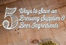 Homebrew Supplies / All of the equipment needed to be a home brewer. Visit our website for a full selection of everything we carry. / by Kegerator