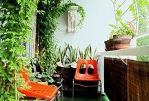 Balcony + Greenery / by Alexa Banks