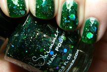 Nails - Polish Stash - Greens / by Erin DeCuir