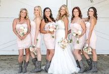 Country Wedding / Pretty country wedding ideas from barn wedding decor and delicious comfort foods to cute country wedding dress and cowboy boot pairings, we're sharing our favorite ways to add Southern charm to your wedding.