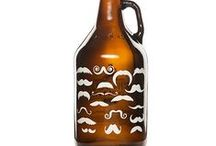 Growlers / Beer growlers are containers that can be used to transport beer. Here are the ones we carry. / by Kegerator
