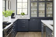 Islands and kitchen / Different kitchen designs . Lots of white contemporary, modern , Scandinavian & farmhouse styles