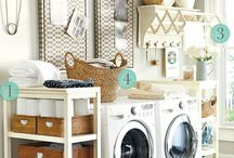 Laundry room - Make washing almost fun / All types of laundry areas & items to do with laundry. Design , gadgets and cute signs :)