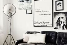 Art - I love to look / All types of art & ideas on how to hang / use in the home