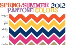 """Spring 2012 Colors / """"Bright and Sun Bleached Yellow paired with Dusty Oceanic Blue, and Rich Purple that pops against Warm Terracotta and Citrus Orange: Cairo Yellow, Crescent Moon, Mountain Stream, Prism Lilac, Terra Cotta and Harem Orange"""" — Elie Tahari   / by One Step Retail Solutions"""