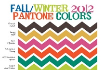 Fall 2012 Colors / by One Step Retail Solutions