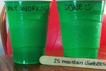 --I Workout!-- / by Emily Helton