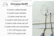 Contest / Giveaways, Contest,You can Start the next giveaway by liking my page on facebook and by leaving a comment!