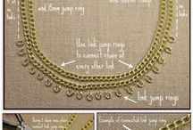 Necklaces Styles to Craft- #Diy Unique craft /  I admire♥ all these lovely some easy to crafts with a challenge. #necklace #diy #tutorials #curated #designs