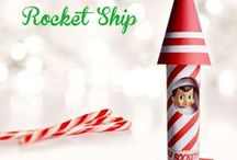 Holiday: Christmas: Elf on the Shelf / Elf on the Shelf ideas for Christmastime!