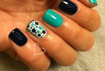 Nailed it! / Mani/ Pedi ideas / by Amy Gabbard