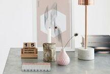 INTERIORS :: Pink & Metallic