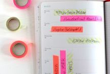 GETTING ORGANISED :: Filofaxes & Planners