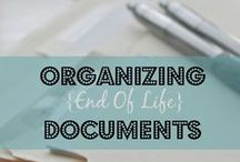 Organizing: Paper / Paper overflow? Here are some ideas to cope!