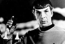 Star Treck: Spock / Leonard Nimoy.  Spock.