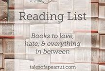Books read and loved / All books that I have read and LOVED! / by Tales of a Peanut