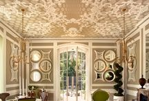 Defined Walls & Ceilings / by A Picture Paints, Julie Mazza