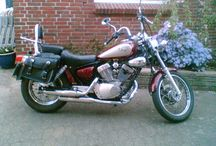 My Yamaha Virago / My bike...... love cruising around the crontrysite in the summer .... and miss it in the winter