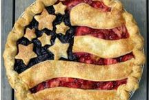 4th of July / Let's take your 4th of July celebration up a notch. From festive food to fun and creative table decor. Happy Birthday, America!