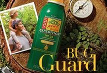 Skin So Soft BUG GUARD PLUS / Insect repellents and anti-itch spray for bug bites.