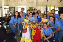 Presentación Agrupación Musical Colombiana Los niños del Vallenato / Momentos vividos en la presentación del la Agrupación Musical Colombiana Los Niños del Vallenato