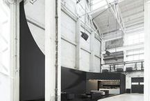 West Bund Art & Design Stage by COORDINATION ASIA / For the West Bund Art & Design 2016, media partner AD Style (China's Architectural Digest) approached Tilman Thürmer to design the art event's central stage. The 23-meter high hall of the iconic industrial warehouse venue was transformed into a gallery-like lounge, including a café, comfortable seating, a bold design sculpture over 10 meters, and a cerebral atmosphere dotted with spaces to play host to select contemporary artwork.