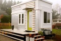 Tiny House Pins by deeAuvil / Tiny Houses are small, efficient, cozy, stylish homes
