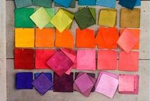 Color by deeAuvil / color wheels, rainbows, paint choices...