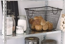 Closet, Pantry, Storage by deeAuvil / organizing storage of food, clothes, jewelry, make-up