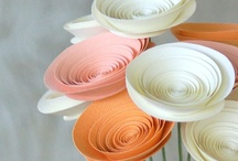 Crafted Flowers & Paper Flowers by deeAuvil / instructions for crafting flowers from paper, fabric, etc.