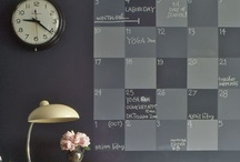 Command Centers & Calendars by deeAuvil / calendars and command centers to get the family organized