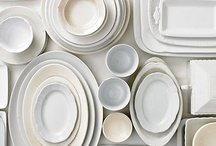 ironstone / whiteware / by Courtney // 12th and White
