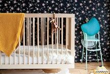 Oeuf Sparrow collection / With its wide range of finishes, this stylish and versatile crib will co-ordinate with any nursery decor. Slim side rails and spindles give this crib a light, airy feel and make it a favorite of interior designers. Its high quality and sturdy construction means it will last for generations. / by Oeuf NYC