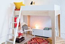 Oeuf Perch Collection / Oeuf Kids Perch Bunk Bed Loft Interior Design Room / by Oeuf NYC