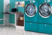 Laundry by deeAuvil / laundry rooms, clotheslines, clothes pins, clothes pegs, dog grooming stations