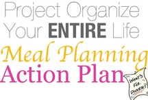 Menu planning & Food organization